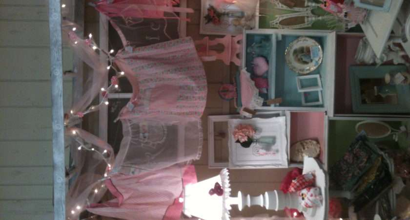 Shabby Chic Booth Antique Display Ideas Pinterest