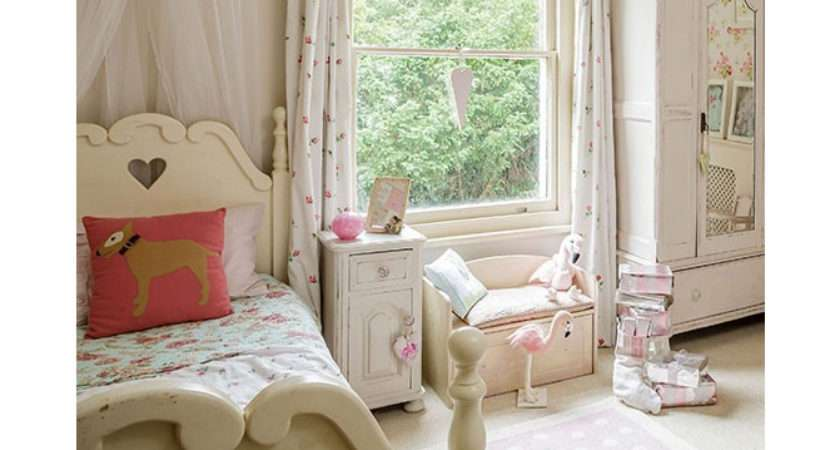 Shabby Chic Girl Bedroom