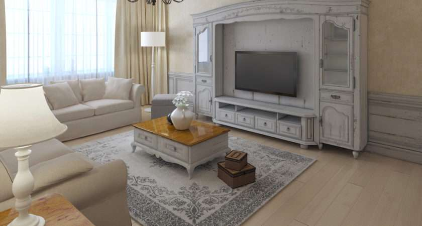 Shabby Chic Living Room Begins Beautifully Old Distressed