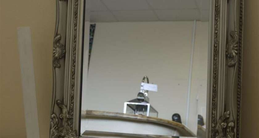 Shabby Chic Mirror French Vintage Style Bevelled Edge