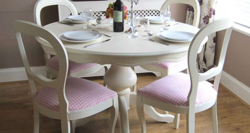 Shabby Chic Table Chairs Ebay