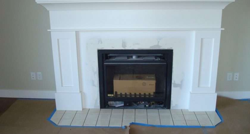 Shaker Style Fireplace Wish Looked Good
