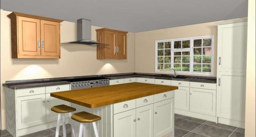 Shaped Kitchen Island Definitely Answer Toovercome