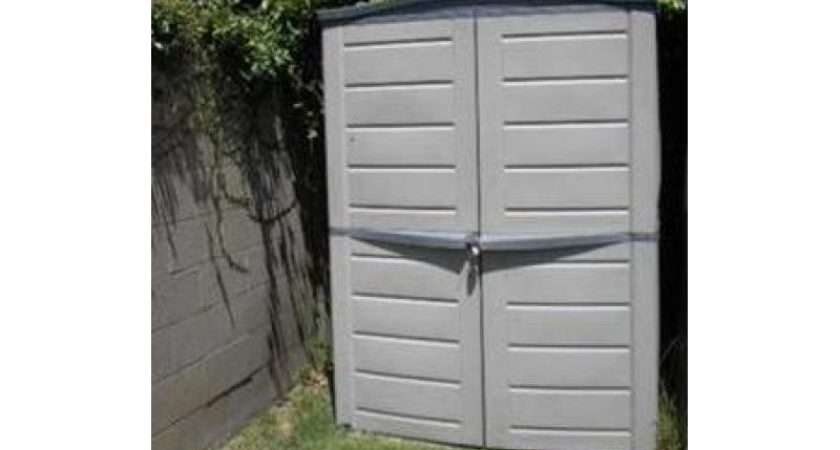 Shed Brown Taupe Keter Manor Storage