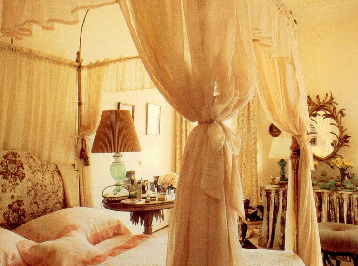Sheer Curtains Used Over Again Beautiful Canopy Beds