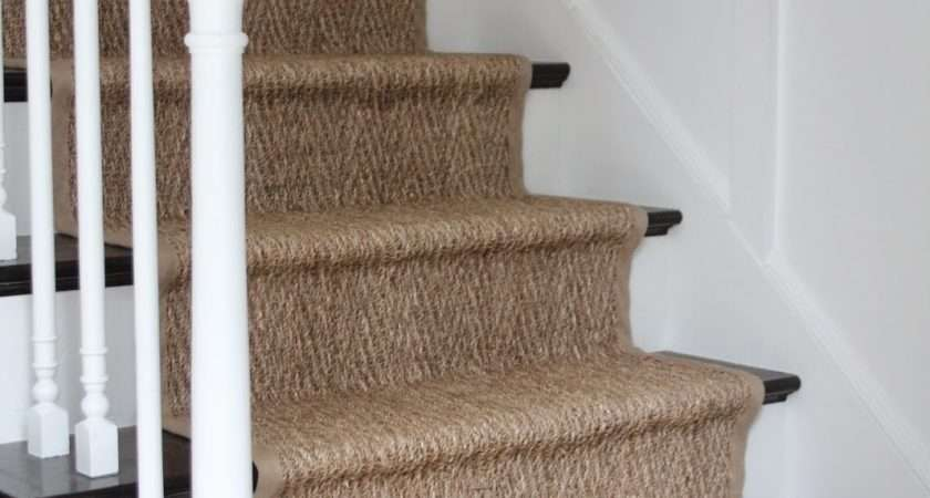 Shine Your Light Our Natural Fiber Stair Runner Has