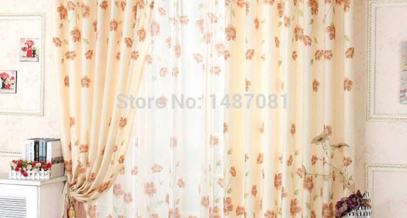 Shipping Pcs Sheer Window Treatment Curtain Voile