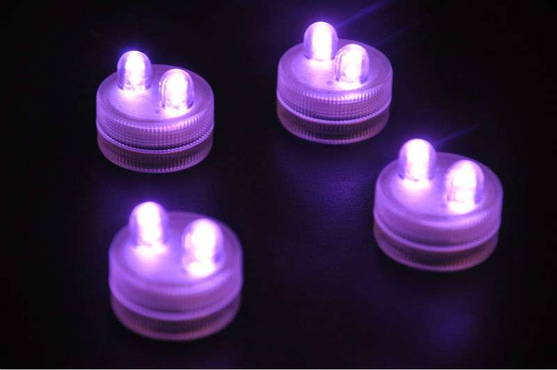 Shipping Units Lot Submersible Led Lights Vase Floral Lighting