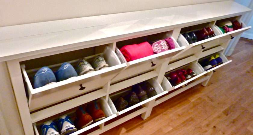 Shoe Bench Hallway Amazingly Useful Furniture Element