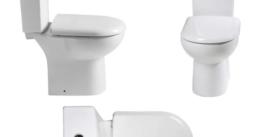 Short Projection Cloakroom Compact Small Toilet Pan