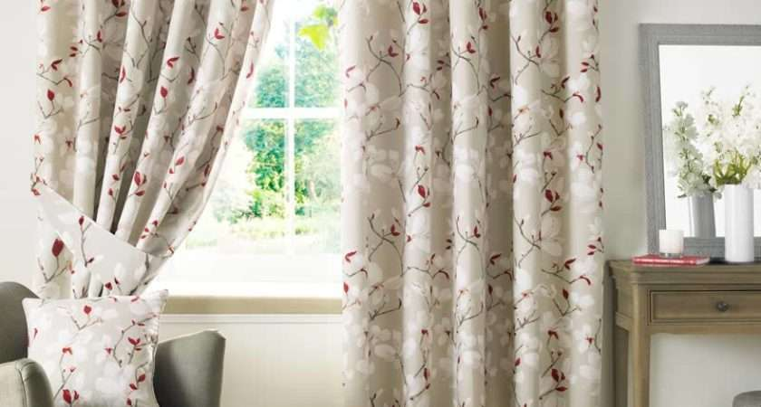 Shorten Ready Made Lined Curtains Curtain