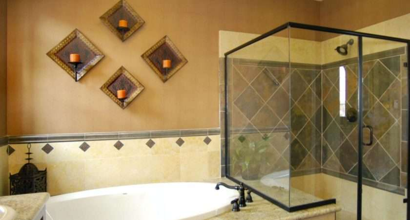 Shower Tub Combo Modern Meets Old World Style
