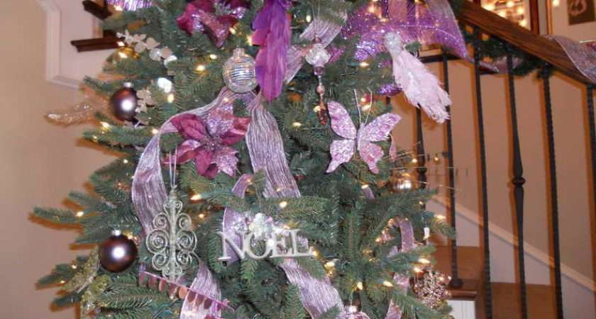 Silver Christmas Tree Decorating Ideas Decorations