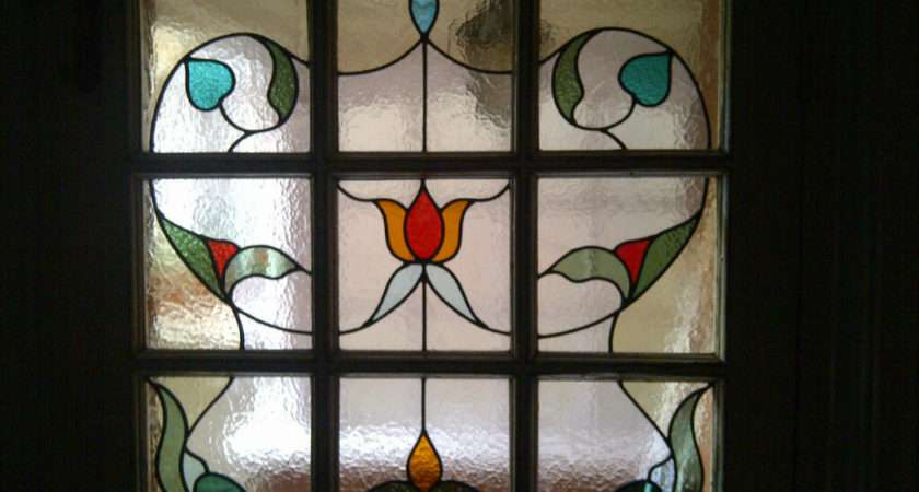 Simple Stained Glass Window Designs Edwardian