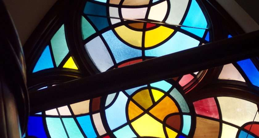 Simple Stained Glass Window Photogallery