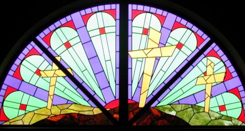 Simple Stained Glass Window Windows