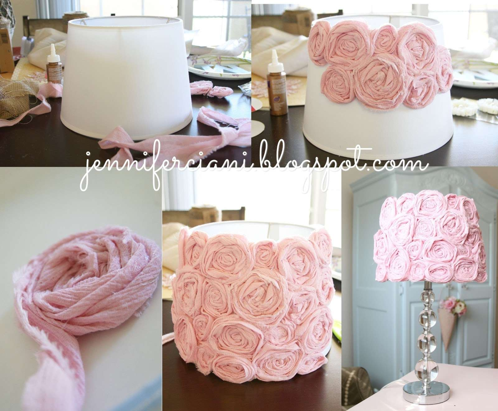 Simply Ciani Shabby Chic Lamp Shade