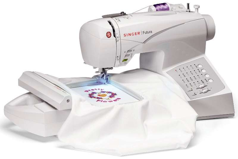 Singer Futura Sewing Embroidery Machine Reviews