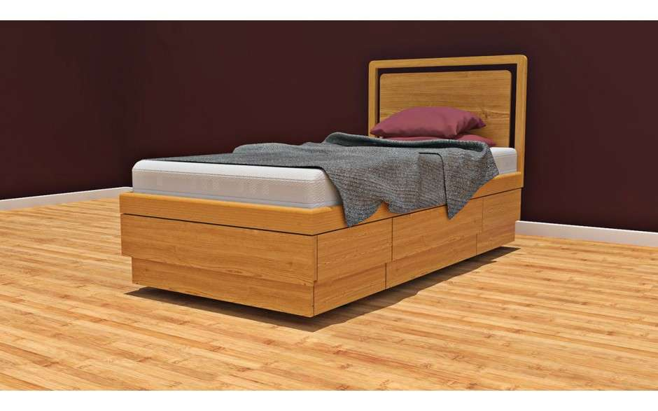 Single Boxer Storage Bed