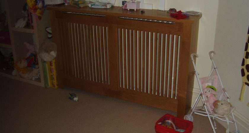 Slatted Radiator Cover
