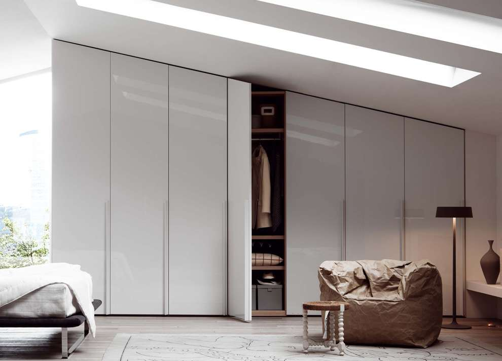 Sliding Door Wardrobe Fitted Has Integrated