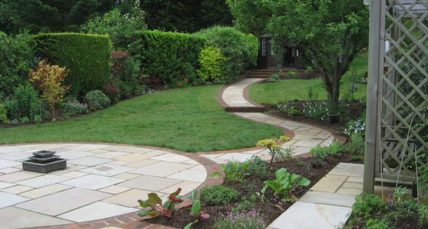 Sloping Garden Design Accent Designs