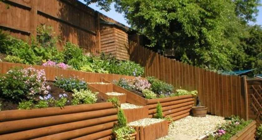 Sloping Garden Ideas Beeanddave
