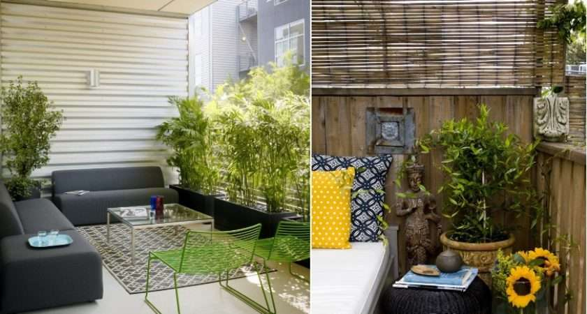 Small Balcony Garden Design Ideas All