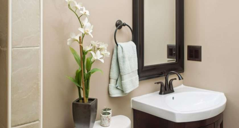 Small Bathroom Chic Tranquil Spa Inspired Accessories