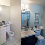 Small Bathroom Makeovers Before After Creative Home