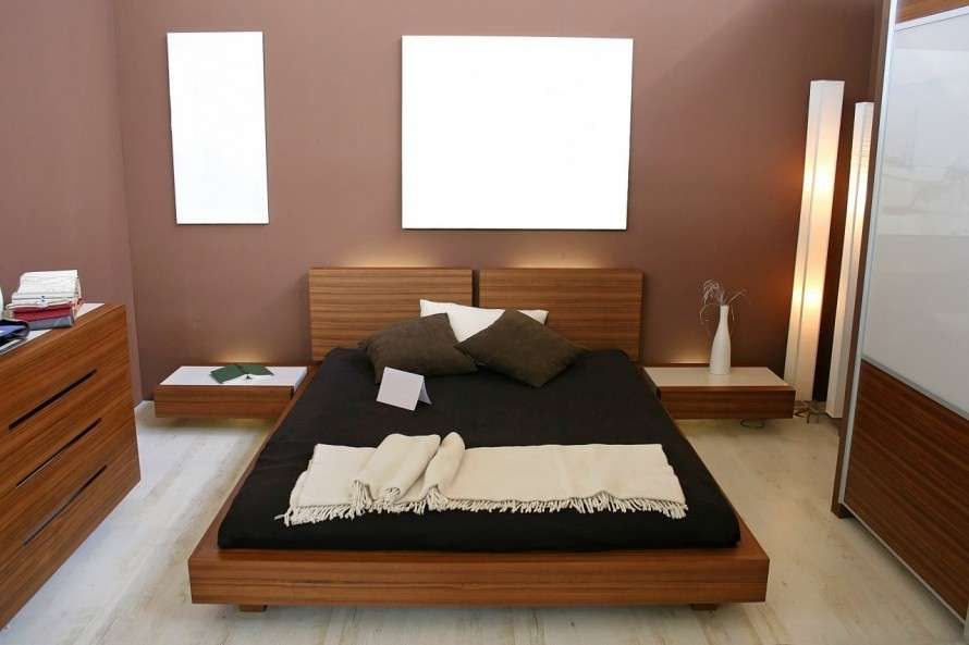 Small Bedroom Paint Color Ideas Become Larger Modern