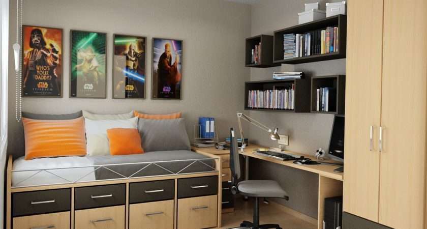 Small Bedroom Storage Solutions Designed