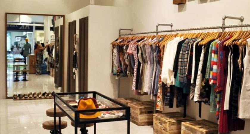 Small Boutique Clothes Boutiques Interior
