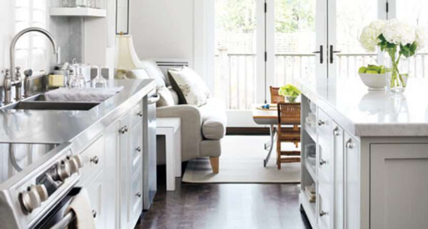 Small But Stylish Galley Kitchens Marble Buzz