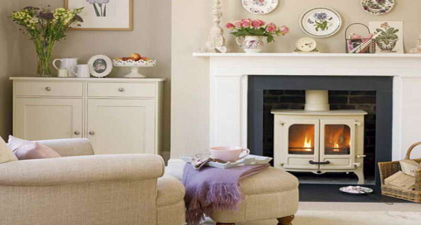 Small Cottage Decorating Ideas Fireplace