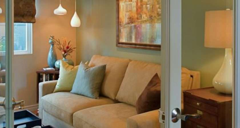 Small Den Home Design Ideas Remodel Decor