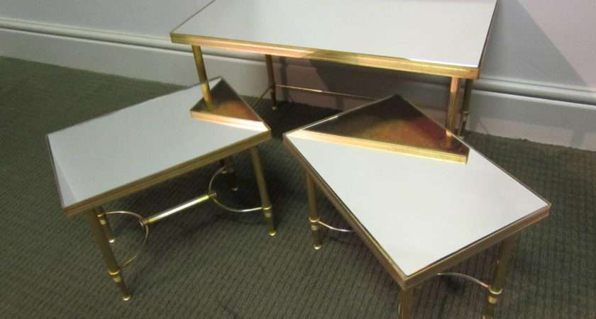 Small French Nest Tables Stdibs