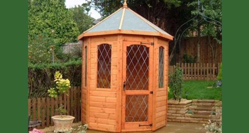 Small Garden Summer Houses Stand Woodworking