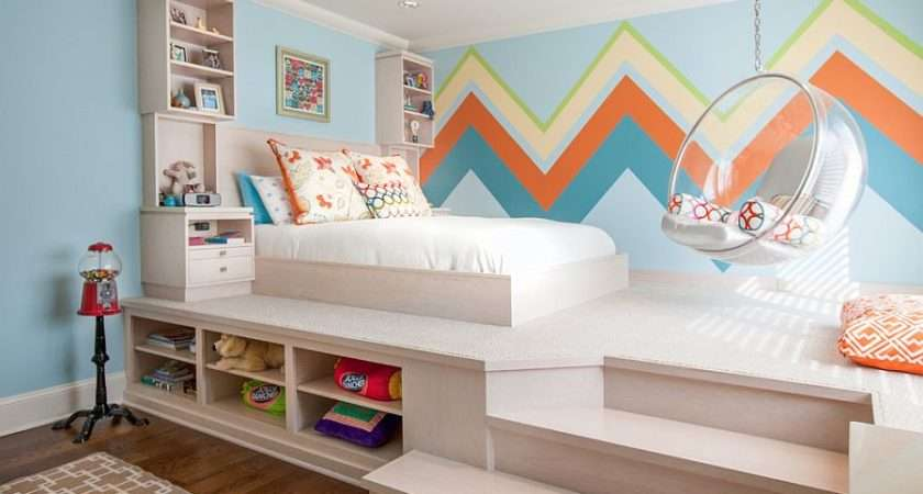 Small Kids Bedroom Makes Perfect Available Space Design
