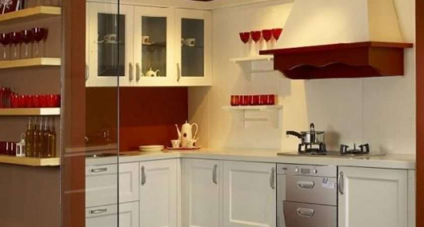 Small Kitchen Cabinets Cool Ideas Space