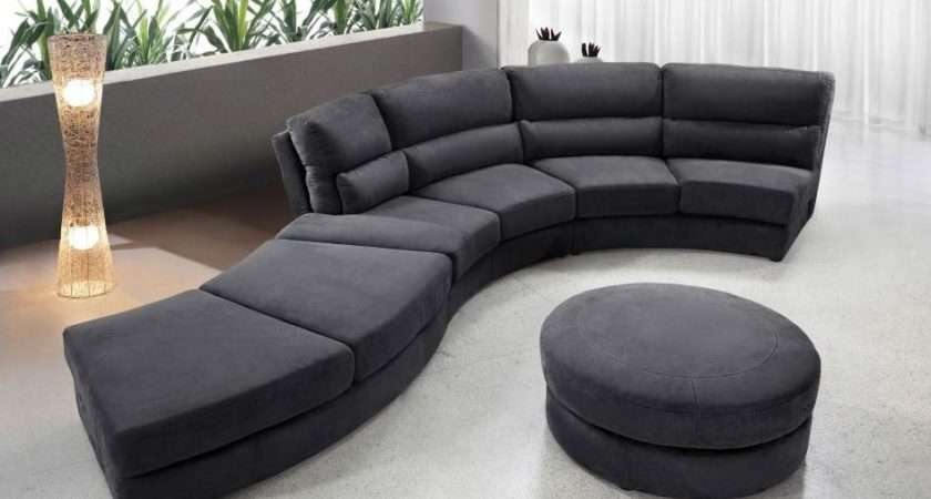 Small Modern Fabric Sectional Sofa