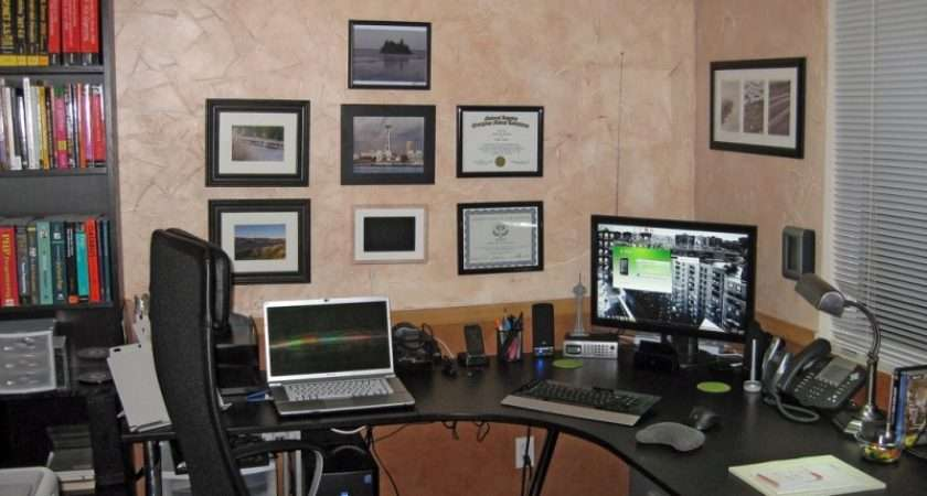 Small Modern Office Design Simple Layout Photos