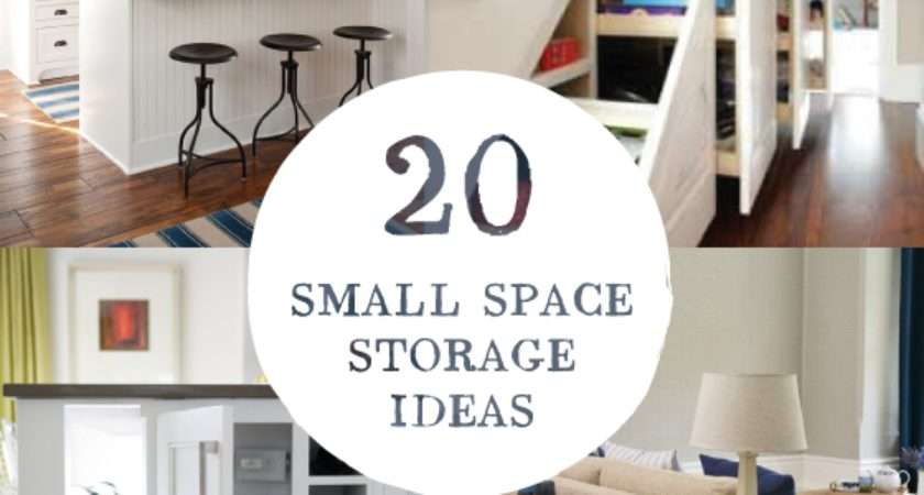 Small Space Storage Ideas Remodelingguy