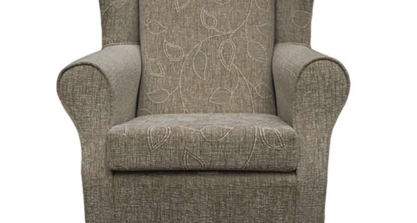 Small Westoe Wing Back Fireside Armchair Orthopaedic