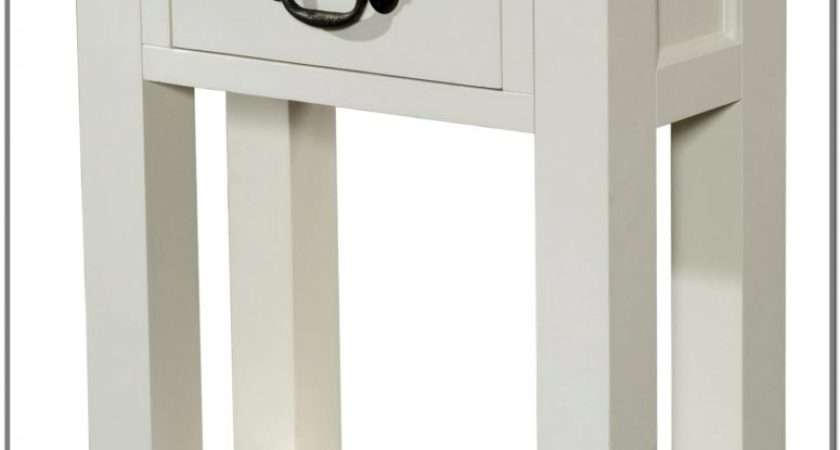Small White Console Table Home