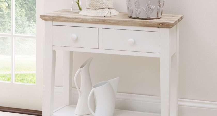 Small White Hall Table More Console Tables