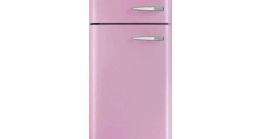 Smeg Fab Lfp Fridge Freezer Pink