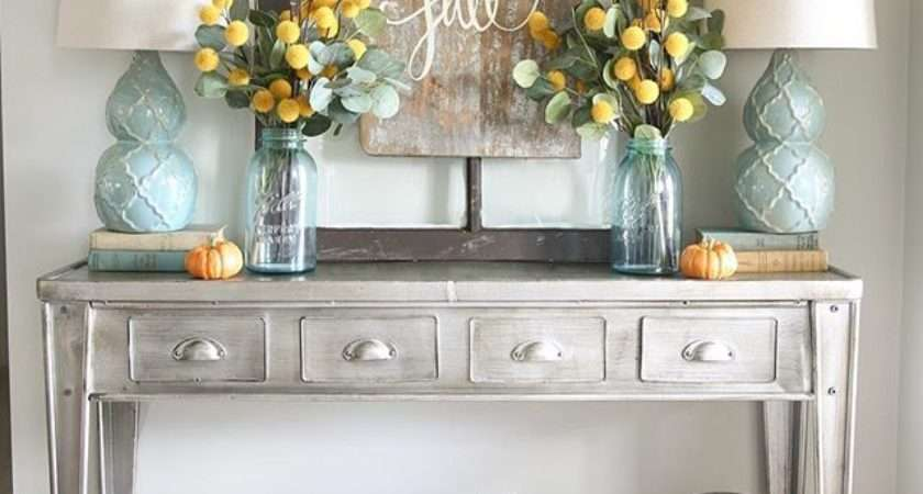 Sofa Table Decorating Ideas Brokeasshome
