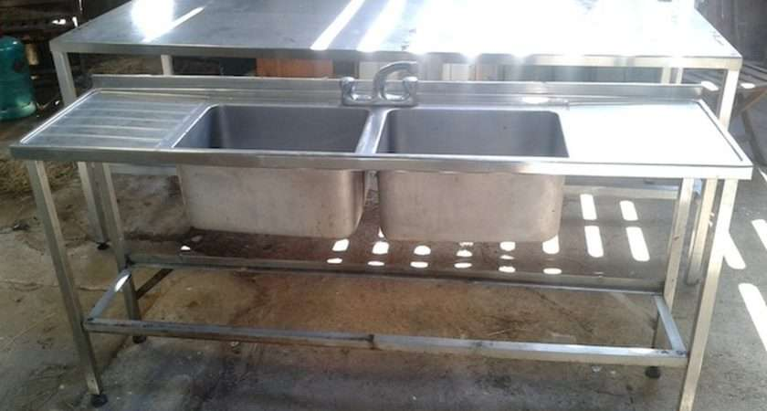 Sold Slimline Double Bowl Stainless Steel Sink York North Yorkshire