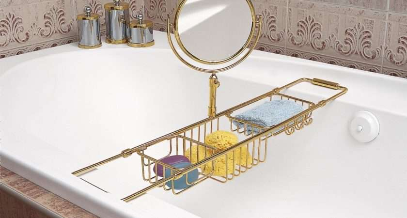 Solid Brass Extendable Bath Rack Available Finished Chrome